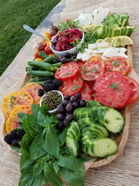 vegetables plate summer vegetable platter clean food crush