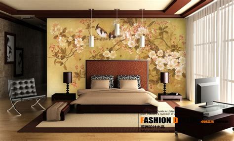 chinese bedroom decor exquisite wall coverings from china