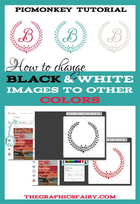 black and white to color transition pictures to pin on change a black and white graphic to color the graphics fairy