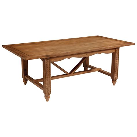 Magnolia Home By Joanna Gaines French Inspired Leaf Carved Home Dining Tables