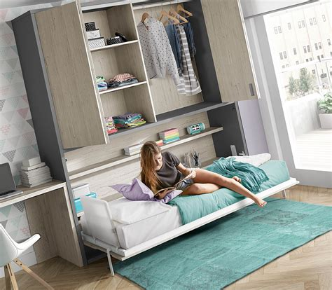 habitaciones juveniles camas abatibles camas abatibles dormitorio juvenil cama abatible