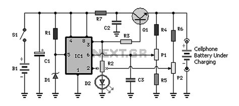 rechargeable battery circuit diagram rechargeable battery charging circuit diagram