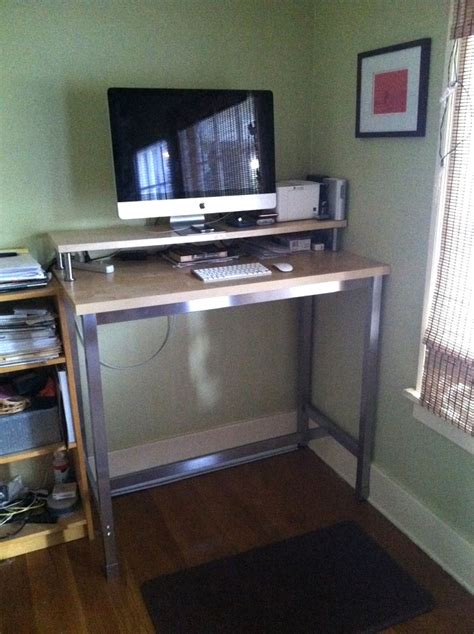 Ikea Stand Up Desk Home Office Bitdigest Design The Home Office Standing Desk
