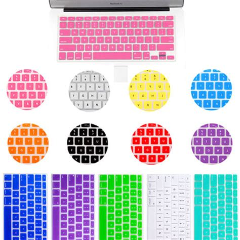 Promo Gold Macbook 15 Gold Keyboard Free Dustplug skull bro 5pcs silicone anti dust keyboard rubber skin cover protection for macbook air pro 11 6
