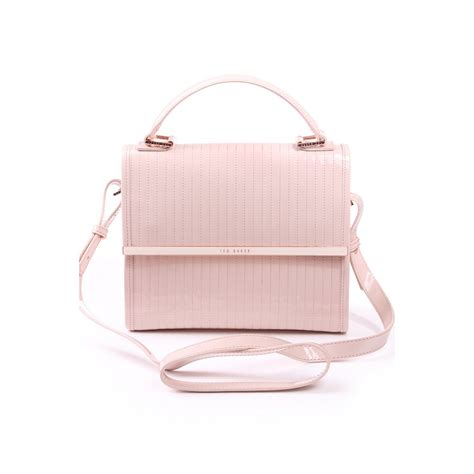 Stadivarius Mini Tote Bag ted baker womens ted baker womens quilted enamel mini tote bag lt pink ted baker womens from