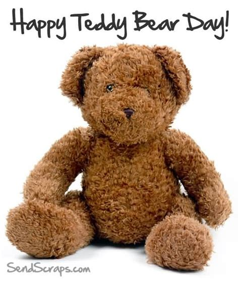 day bears 60 happy national teddy day greetings pictures and