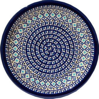polish pottery dinner plate pattern number 233ar polish pottery dinner plate pattern number 217a