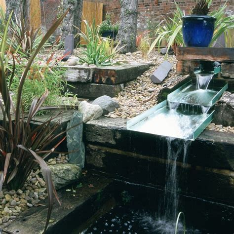 Water Feature Gardens Ideas Garden Water Feature Garden Design Ideas Housetohome Co Uk