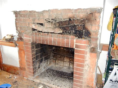 how to rebuild a fireplace saturday morning home repair restoring the fireplace