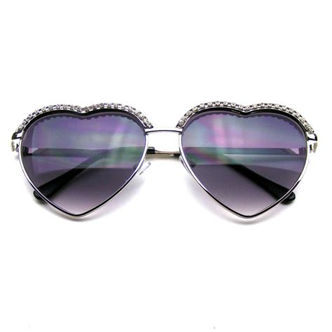 Chic Sunglasses by Chic Shape Glam Rhinestone Sunglasses 183 Emblem
