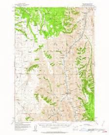 topo maps oregon quot usgs topo map oregon imnaha 282602 1954 62500 quot posters by
