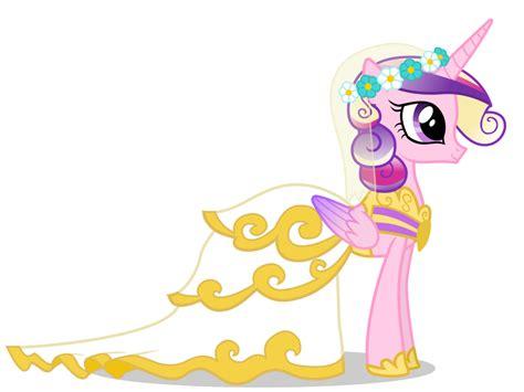 Princess Cadance In Wedding Dress By 90sigma On Deviantart Mlp Princess Cadence Wedding Printable