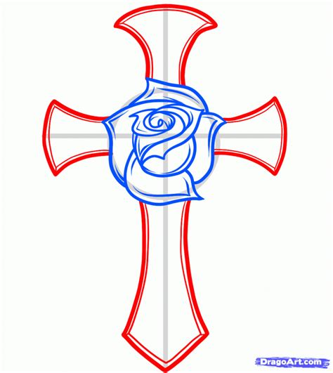 outline of cross tattoo tattoos page 69