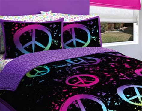 peace sign bedroom peace sign bedding