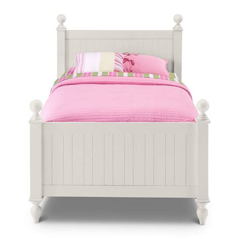 white twin bedroom furniture colorworks twin bed white american signature furniture