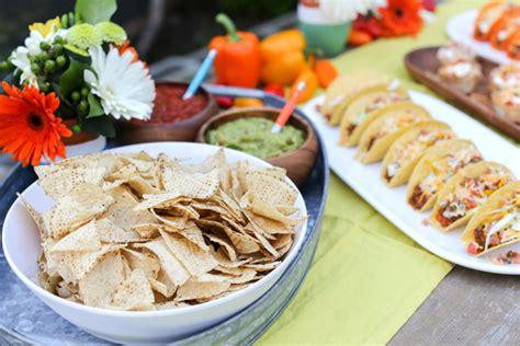 Backyard Taco Salsa Kara S Ideas Backyard Cinco De Mayo Diy