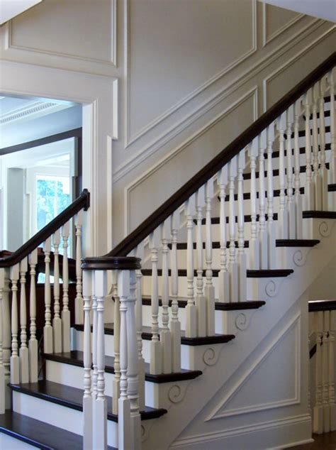 Classic Stairs Design Timeless Classic Stair Designs Traditional Staircase Chicago By Designed Stairs
