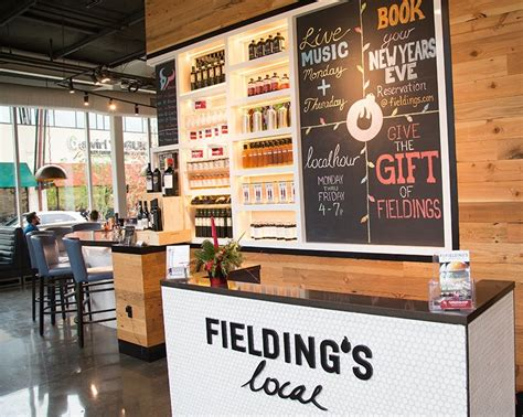 Fielding S Local Kitchen Bar by Fieldings Local Kitchen Bar Outside Houston Italian