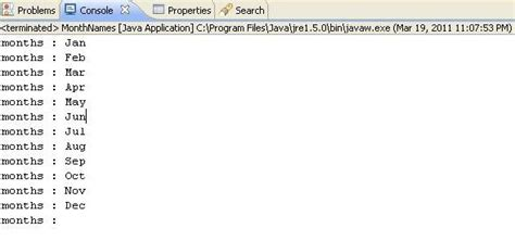 mysql date format short month name java program to display month names in short format