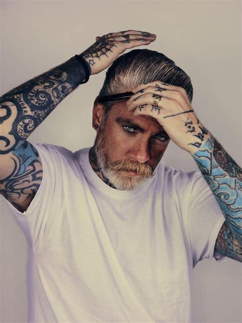 Old Man Tattoo Meme - tattoo beard men style tattoo beards long hair art