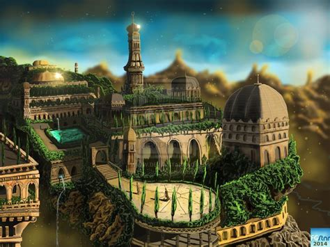 Garden Of Babylon by Hanging Gardens Of Babylon Wallpapers Wallpaper Cave