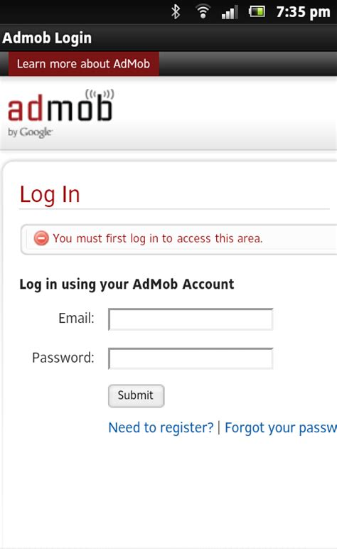 Play Store Login Admob Play Login For Android Free On