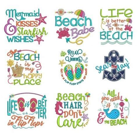 embroidery design quotes 25 best ideas about beach sayings on pinterest beach