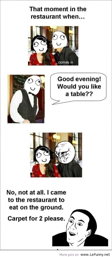 Meme Restaurant - funniest restaurant meme