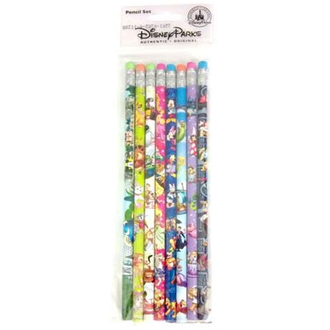 disney pencil set  pack  pencils storybook characters
