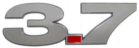 Emblem Merek V 6 2010 2012 mustang v6 oem style 3 7 badge emblem set 3850