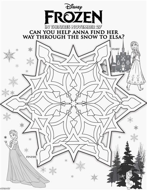 printable coloring pages disney frozen susieqtpies cafe disney s frozen free activity