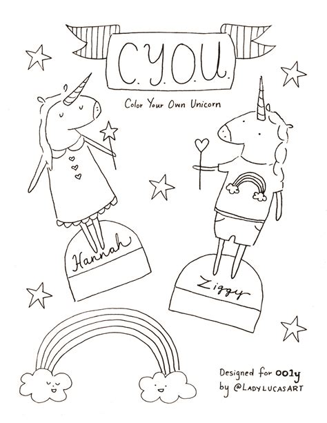 color your own coloring pages cut and color your own unicorn coloring page ooly