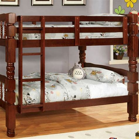 Cherry Wood Bunk Beds Carolina Bunk Bed Cherry