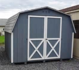 8x16 mini barn wood shed kit