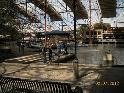 paddle boats union station view from the paddle boats rental area picture of st