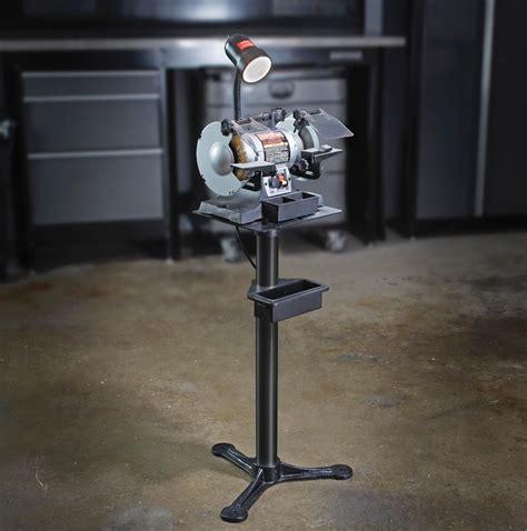 craftsman bench grinder stand