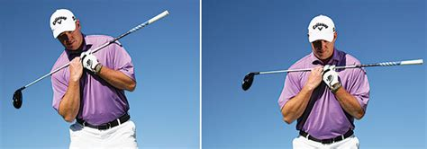 shoulder action in golf swing how to play target golf golf tips magazine