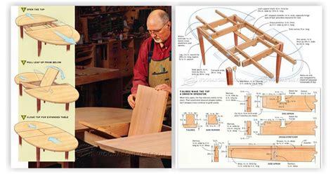 expanding table plans expanding table plans woodarchivist