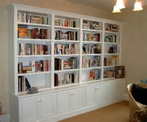 Ikea Home Library Design Painted Bookcase