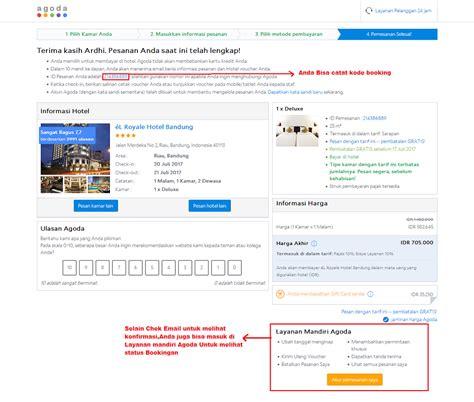 agoda email cara mencari pesan booking kamar online di agoda