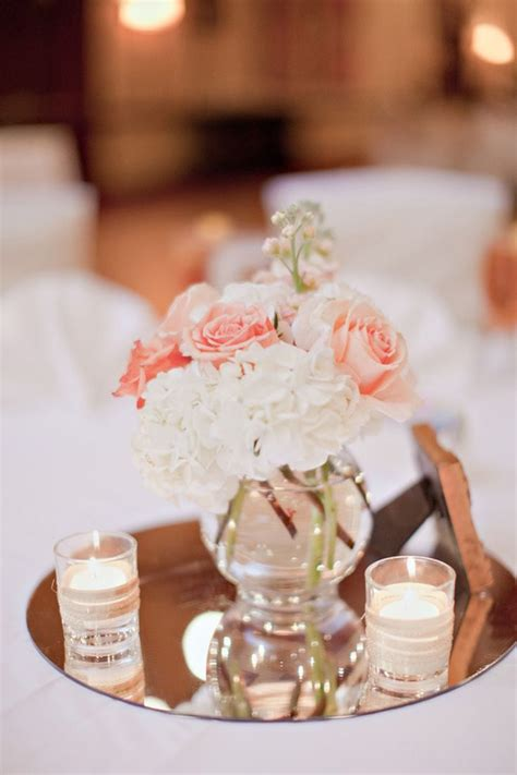 simple centerpiece best 25 blush wedding centerpieces ideas only on