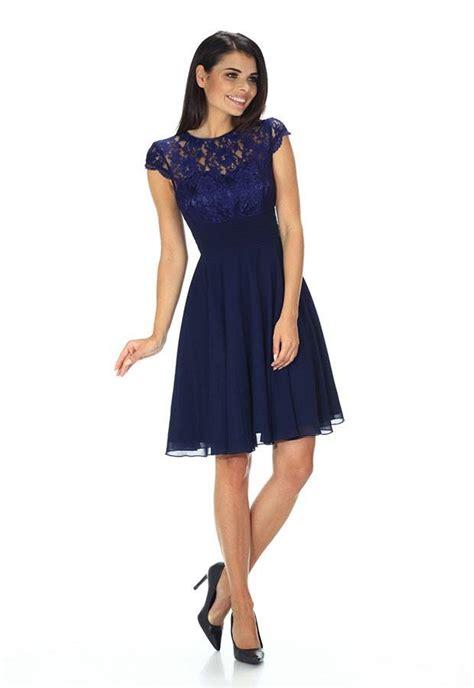 blauwe coctail jurk blauwe kanten cocktailjurk populaire jurken uit de hele