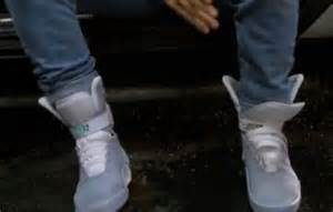 marty mcfly trainers nike files patent for self lacing trainers just like in