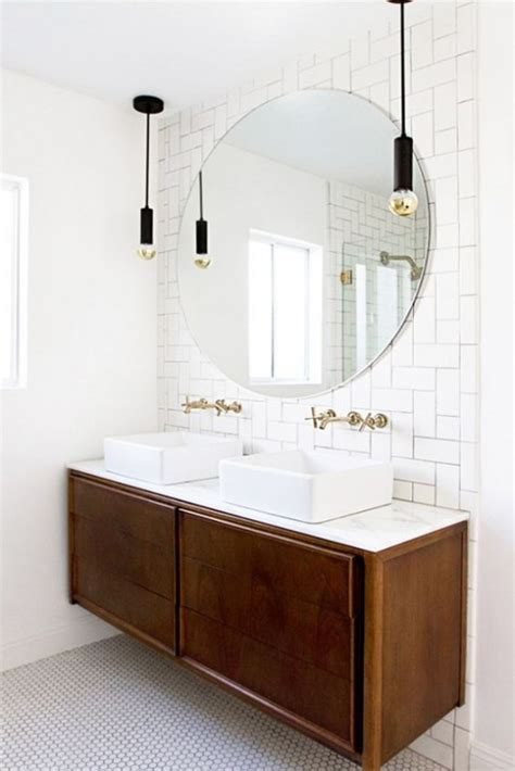 mid century bathroom lighting 35 trendy mid century modern bathrooms to get inspired