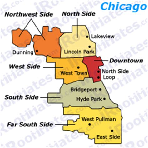 chicago map south side roommates and rooms for rent in south side illinois