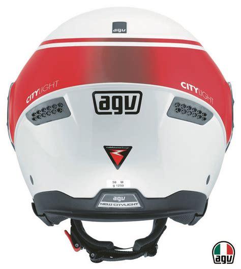 Helm Agv New Citylight agv new city light multi world white gear helmets egybikers