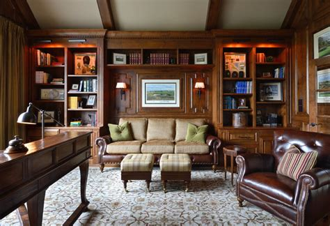 Traditional Home Office Design Pictures | cc traditional home office charlotte by carolina