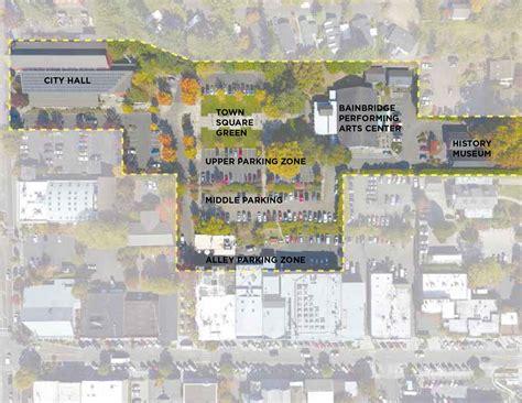 Parking Garage Island City by Bainbridge Officials Consider Plan To Build Underground