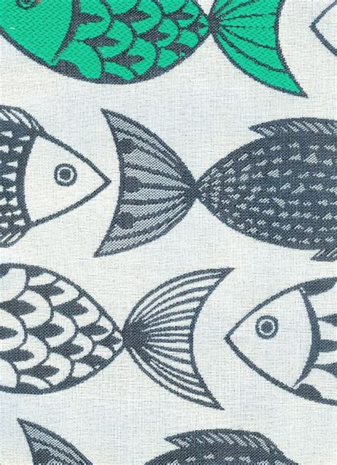 Fish Upholstery Fabric by Outdoor Fish Design Fabric Modern Outdoor Fabric By Fabrics Papers