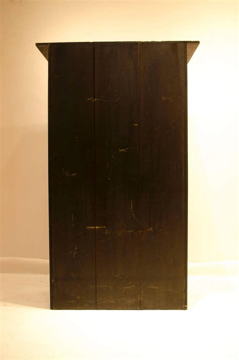 Mackintosh Sideboard Arts And Crafts Cypress Wood And Brass Writing Cabinet By